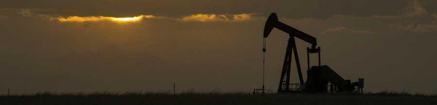 Sunset on Alabama Pumpjack